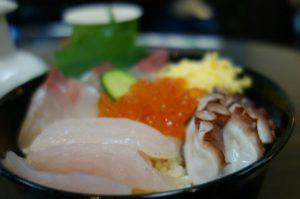 輪島の朝市 海鮮丼
