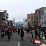 松本あめ市の歩行者天国